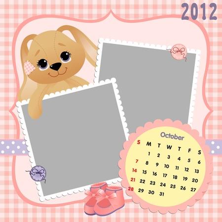bootees: Baby calendar 2012