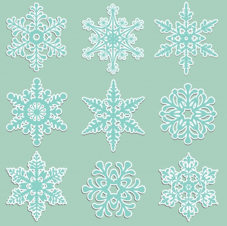 Cute christmas new Year desing elments Vector
