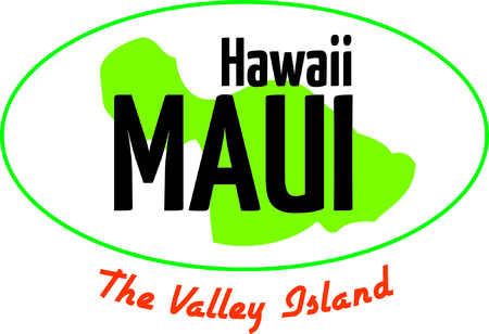 Show off your love of Hawaii with an island on a tshirt Illustration
