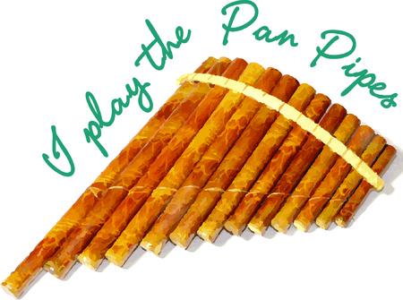 A pan flute will make beautiful music.