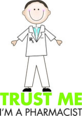 druggist: Show off your profession on a tshirt with this design.
