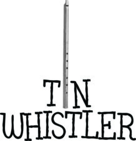 Make beautiful music with a tin whistle.