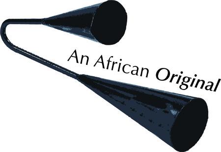 An agogo will make beautiful music. Çizim