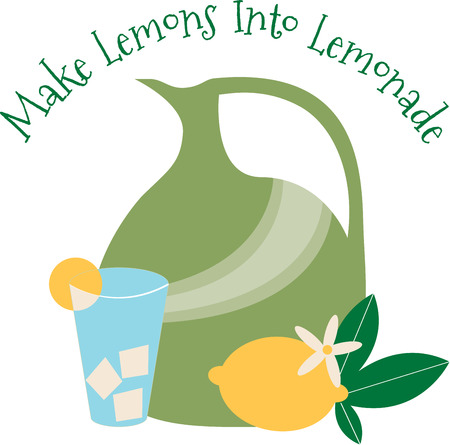 icecube: Nothing screams summer like lemonade.  This design is perfect on bags tshirts kitchen decor and more. Illustration