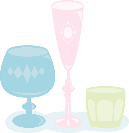 vino: Time to celebrate with this perfect design to please the vino connoisseur It will look cool on cocktail napkins kitchen dcor and more Illustration