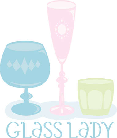 shots alcohol: Time to celebrate with this perfect design to please the vino connoisseur It will look cool on cocktail napkins kitchen dcor and more Illustration