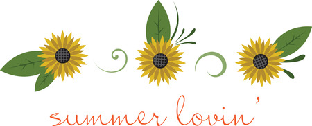 Sunflowers are the bright yellows of the full bloom of every color in the rainbow  beautiful from inside out.  Bring in the brightness with this design from embroidery patterns.