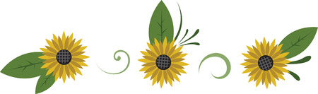 brightness: Sunflowers are the bright yellows of the full bloom of every color in the rainbow  beautiful from inside out.  Bring in the brightness with this design from embroidery patterns.