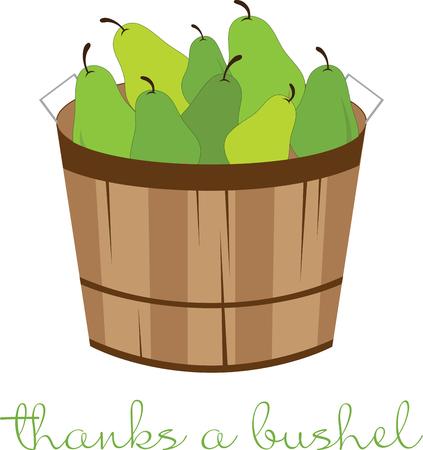 Peer is een zoete vrucht die wordt gezegd te worden gerelateerd aan de appel en de werelden oudste gecultiveerde en geliefde vruchten met dit ontwerp door borduurpatronen
