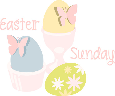 may all the enjoyments of the glorious season be yours pick those colorful Easter Eggs With Butterflies designs by embroidery patterns