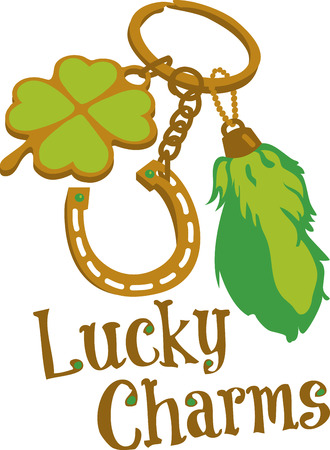 luck charms: Lucky charms are items within cultures that are believed to bring luck pick those design by embroidery patterns.