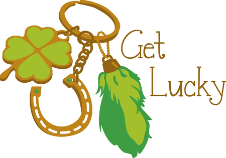 Lucky charms are items within cultures that are believed to bring luck pick those design by embroidery patterns.