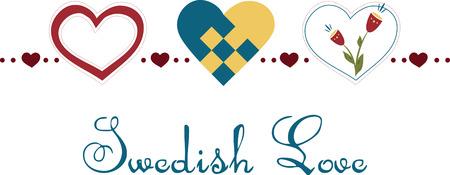 Scandinavian style wooden decoration in the shape of a heart. get the beautiful design by embroidery patterns