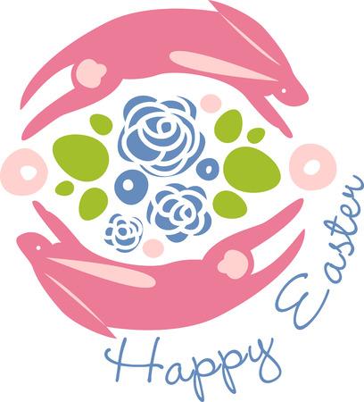 glorioso: podem todos os prazeres da temporada gloriosa ser seu escolher os desenhos coloridos de Easter da mola por padr�es de bordado