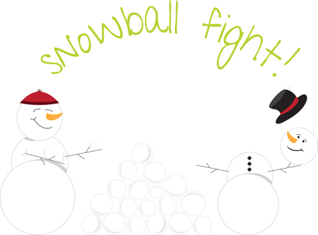 Snow ball Fight Is an awesome game. Everyone loves a good snowball fight. Lets enjoy with this   design by embroidery patterns.