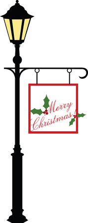 streetlamp: Enjoy unforgettable entertainment from Under the Streetlamp. With this design by embroidery patterns Illustration