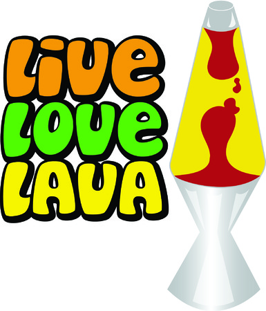 lava lamp: Get groovy with a lava lamp.