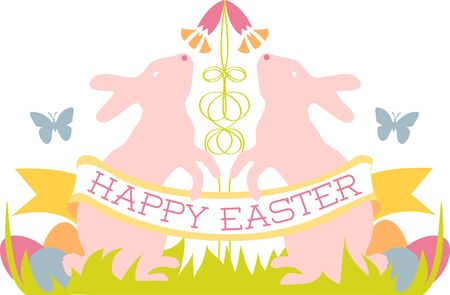 glorious: may all the enjoyments of the glorious season be yours pick those colorful Easter Bunny Crest designs by embroidery patterns