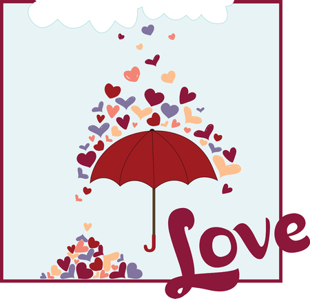 brolly: Rainy Hearts makes every thing beautiful