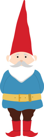 Once you go gnome you never go home. Pick those design by embroidery patterns. Ilustracja