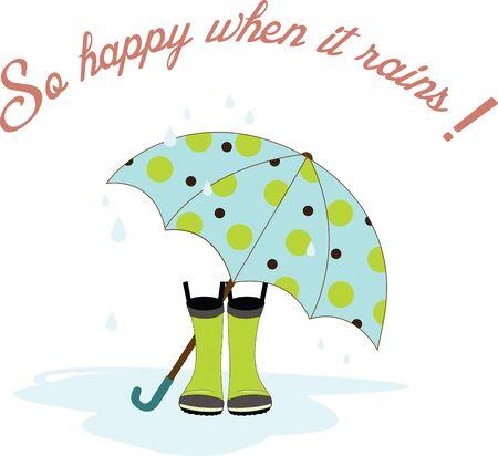 비오는 날을 보내는 좋은 날은 떨어지는 비의 음악을 듣습니다. 스톡 콘텐츠 - 41520405
