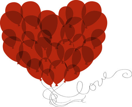 saint valentine   s day: Romance your sweetie with Valentines Day balloons. Pick those Design by embroidery patterns.