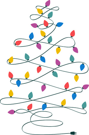 tannenbaum: Decorating the Christmas tree with sparkling lights is a beautiful part of the entire Christmas celebrations
