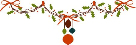 Christmas is a wonderful time . get the  ornaments and decorate your Christmas tree. Ilustrace