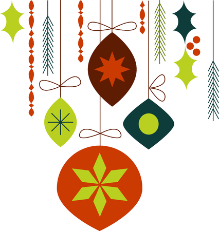 Holiday ornaments  are perfect for the special holiday.pick those design by embroidery patterns.