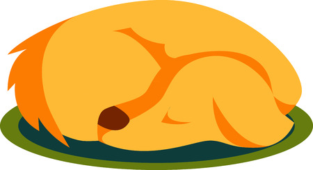 doggies: If you enjoy viewing sleeping dog then you can collect sleeping dog designs Illustration