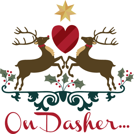 donner: get this cute colorful reindeer crest design by embroidery patterns.