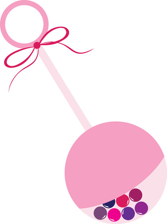 playthings: Baby Rattle is the perfect hanging decoration for your baby shower. Pick those design by embroidery patterns.