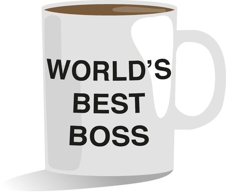 Happy Birthday On this special day make your Boss feel so special and out of the world by saying you are the best boss in the whole wide world Illustration