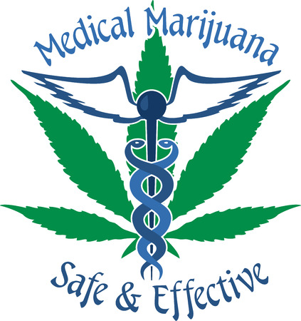 Marijuana is a green brown or gray mix of dried crumbled leaves from the marijuana plant with design by embroidery patterns. Illustration