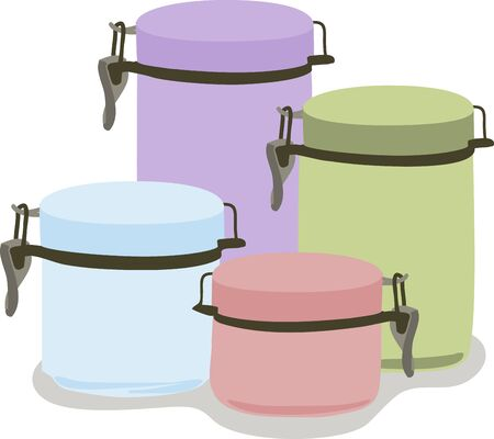 Make sure every aspect of your kitchen remains stylish with the help of ... canisters and matching accessories are perfect for every kitchen.