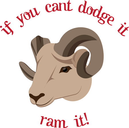 If the ram has shown up in your life prepare to seek out new beginnings in ... They grow throughout the life of the animal eventually forming a full curl or spiral