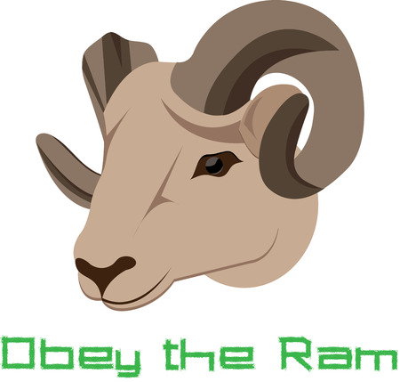 beginnings: If the ram has shown up in your life prepare to seek out new beginnings in ... They grow throughout the life of the animal eventually forming a full curl or spiral
