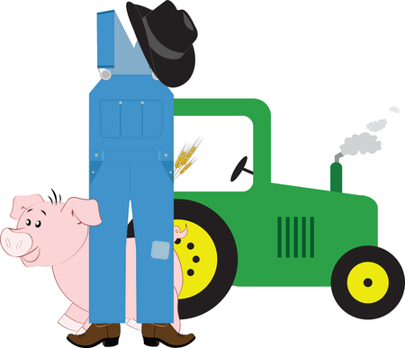 porker: There are only three things that can kill a farmer: lightning rolling over in a tractor and old age