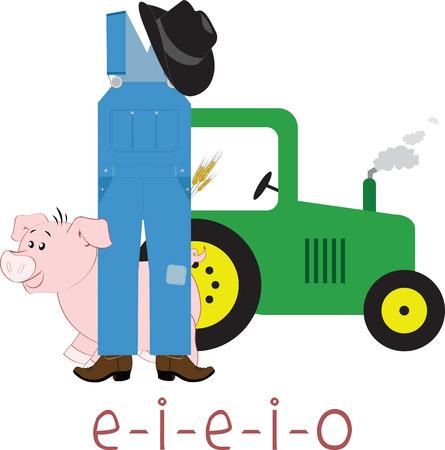 old tractor: Er zijn slechts drie dingen die een boer kan doden: bliksem rollen over in een tractor en ouderdom