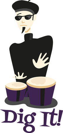 bongos: Pick the colourful Drummer Designs for your next Project.