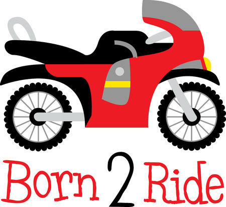 Enjoy your riding with this design by Embroidery patterns