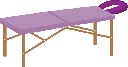 massage therapist: Exclusive Massage Table Designs from Embroidery Patterns display them on your favorites and RELAX Illustration