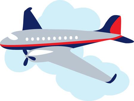 Imparare a volare Imparare a volare è una delle grandi avventure della vita. Volare un aereo è uno dei più grandi piaceri della vita. Divertiti con questo design di modelli di ricamo Archivio Fotografico - 43975570