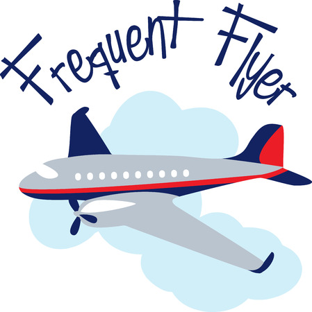 frequent: Learn to Fly Learning to fly is one of lifes great adventures. Flying an airplane is one of lifes greatest pleasures. Enjoy with this design by Embroidery patterns