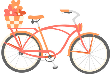 cruiser: Bring some style to your cycling with this classic Cruiser bike designed by Embroidery patterns