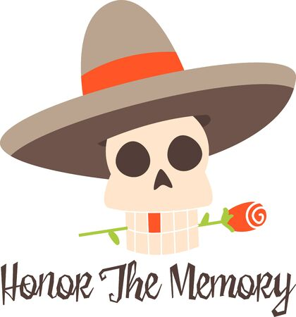 all souls day: Celebrate the Dia de los Muertos in style Day of Dead. Have fun and get the celebration rolling Illustration