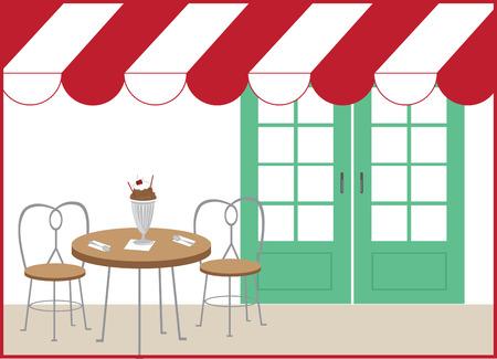 Breng uw familie een ijsje par lour en geniet om ijs te eten met dit ontwerp door borduurpatronen.