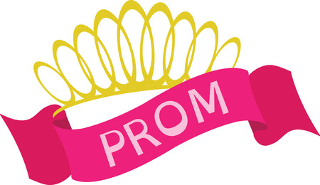 prom: I Love the princess crown which looks very elegant and beautiful feels very special on embroidery designs
