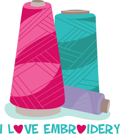 sewn: If you are Embroidery lover these serger cones keeps you in Stitches.