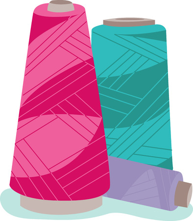If you are Embroidery lover these serger cones keeps you in Stitches.